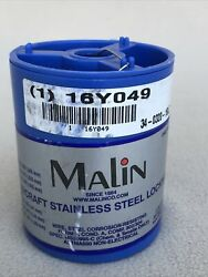 Malin Aviation Stainless Steel Aircraft Lock/safety Wire - .032 Dia - Ms20995c