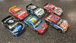 Lot Of 6 Hot Wheels 124 7 1/4 Race Cars Friction Motor Action Free Shipping