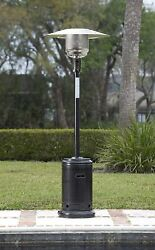 💥AmazonBasics Propane 46000 BTU Outdoor Patio Heater w Wheels Havana Bronze💥