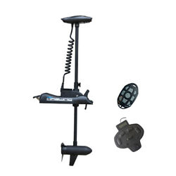 Haswing Black 24v 80lbs 54 Bow Mount Electric Trolling Motor And Foot Control
