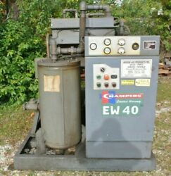 Champion Ew 40 Screw Air Compressor W/filter And Cooler 40 Hp 460 Volts 51.2 Amps