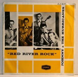 Johnny And The Hurricanesred River Rockaussie Press 1960 7 E.p London Labelex