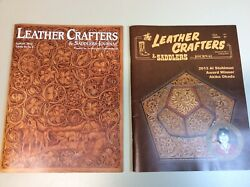 Leather Crafters And Saddlers Journal, 2 Issues, 2013, 2014