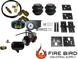 Air Tow Assist Load Level Kit 2014-2018 Dodge Ram 2500 No Drill Toggle 1galtank
