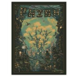 Phish Sigma Oasis Le Poster By Luke Martin Teal And Cream Variant