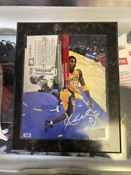 Kobe Autograph 8 Picture Authenticated By Jls Sports Vintage Basketball