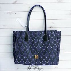 New 2020 Disney Parks Dooney And Bourke Haunted Mansion Purple Wallpaper Tote A