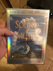 The Sound Of Music Dvd 2000 2-disc Set Five Star Collection Factory Sealed