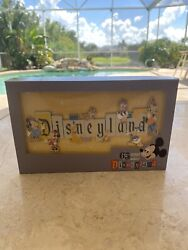 Disneyland Park 65th Anniversary Marquee Boxed Jumbo Pin Free And Fast Shipping