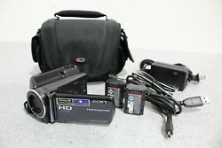Sony Hdr-xr150 120 Gb Camcorder Bundle Fully Tested Free Shipping