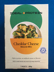 Ideal Protein Cheddar Cheese Sauce Mix - 7 Packets - Exp 12/31/21 Free Shipping