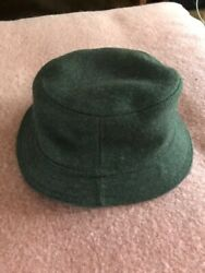 Filson Wool Fisherman Bucket Style Hat Green Small Medium EUC $22.00
