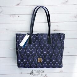 New 2020 Disney Parks Dooney And Bourke Haunted Mansion Purple Wallpaper Tote B