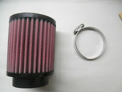 Air Filter Fits Rotax 912is And 914 Ul And Other Carbs W/ 2and7/16 Flange - 3921