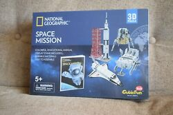 New National Geographic Space Mission 3d Puzzle With Educational Manual 2017