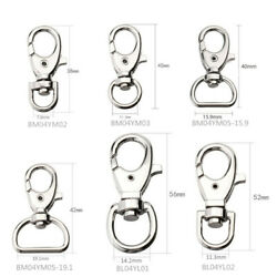 Alloy Rotating Keychain Jewelry Hook Buckle Luggage Accessories Dog Buckle
