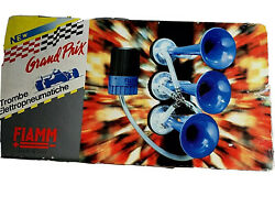 Fiamm Blue Air Horns Series Made In Italy New 41598