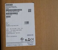 1pc Siemens 6sl3224-0be31-8ua0 New In Box 6sl32240be318ua0 Expedited Shipping