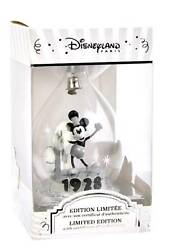Limited Edition Mickey Mouse 90th Anniversary Christmas Bauble Disneyland Paris