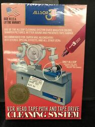 Allsop 3 61000 Vcr Cassette Head Tape Path Drive Cleaner New Sealed Solution Htf