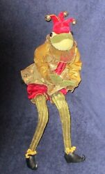 Frog Jester Artisan Doll Katherineand039s Collection