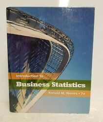 Introduction To Business Statistics - 7e - Weiers