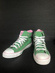 Converse Chuck Taylor All Star Green And Pink High Tops Size 13 Women Unisex