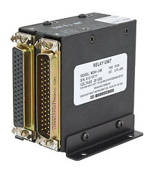 Mid-continent Instruments And Avionics Relay Unit/28v 24 Pole Remote Relay.