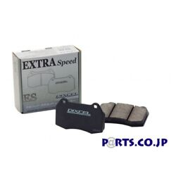 Dixcel Brake Pad Extraspeed Es Type Front For Ncp13 Vitz 1.5 Rs 99/1 - 04/12