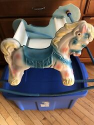 Preowned Shoo-fly Deluxe Rocking Horse By Wonder Products