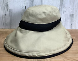 Orvis 100% Cotton Crushable Men's Women's One Size Bucket Fishing Sun Hat $18.00