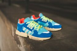 Adidas Zx Torsion Bright Cyan Style Ee4787 Us Size 8 Suede Blue