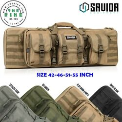 Savior Tactical Bug Out Rifle Bag Double Padded Pistol Soft Gun Case 36 To 55