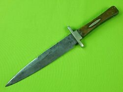 Antique 19 Century 1856-76and039s British English Henry Carr Sheffield Fighting Knife