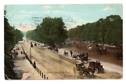 Rotten Row Hyde Park London - Posted 1904 To Miss Everitt Sproxton Melton