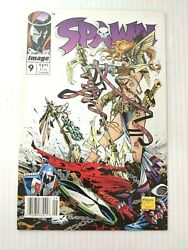 Spawn # 9 Newsstand 1:100 Variant 1st Appearance of Angela VFNM NM