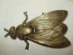 Vintage Italian Brass Fly With Striker Made In Italy1752