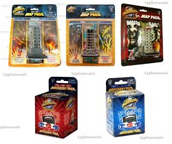Monsterpocalypse Series 1 3 4 Map Pack And Blue Red Acc Rise All Your Base Now New