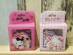 Hello Kitty STICKERS Tape Sanrio Cute Pink Planner Scrapbooking Diary Gift Bear