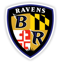 Baltimore Ravens Sticker Football Decal Die Cut For Windows Car Table Wall Case