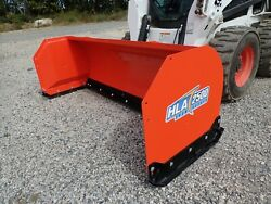 New Hla 2500 Series 84 Snow Pusher For Skid Steers Ssl Quick Attach Fits Many