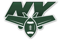 New York Jets Ny Sticker / Die Cut Decal For Suitcase Truck Laptop Car Window
