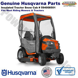 Husqvarna Insulated Tractor Snow Cab With Zippered Doors / 594008501 531307170