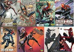 Lot Spider-man, Superior Spider-man Rare Campbell Variants, Expo, Sdcc Nm