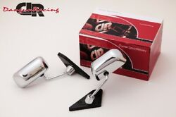 Gt1 Mirror Chrome Manual Adjust Lhd For Nissan Silvia S13
