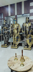 Medieval Stainless Steel Rust Fre Full Body Wearable Knight Armor Suit Set Of 3