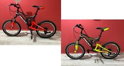 Bici Bicicletta Mtb 20and039and039 Reset Bronx Shimano 6v Full Suspension