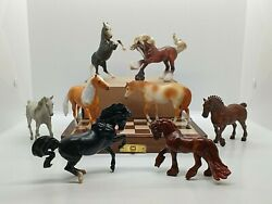 Breyer Stablemates 1:32 70th Anniversary Bling Bag ALL 8 Models *NEW FOR 2020*
