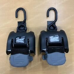 Ranger Bass Boats Ratchet Tie Downs Pair Boat Buckle F08893 Trailer Parts Fish