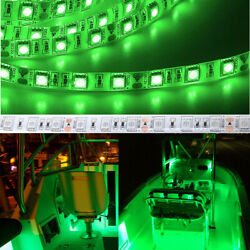 Wireless Waterproof Led Strip Light 16ft For Boat / Truck Andcar/ Suv /rv Green